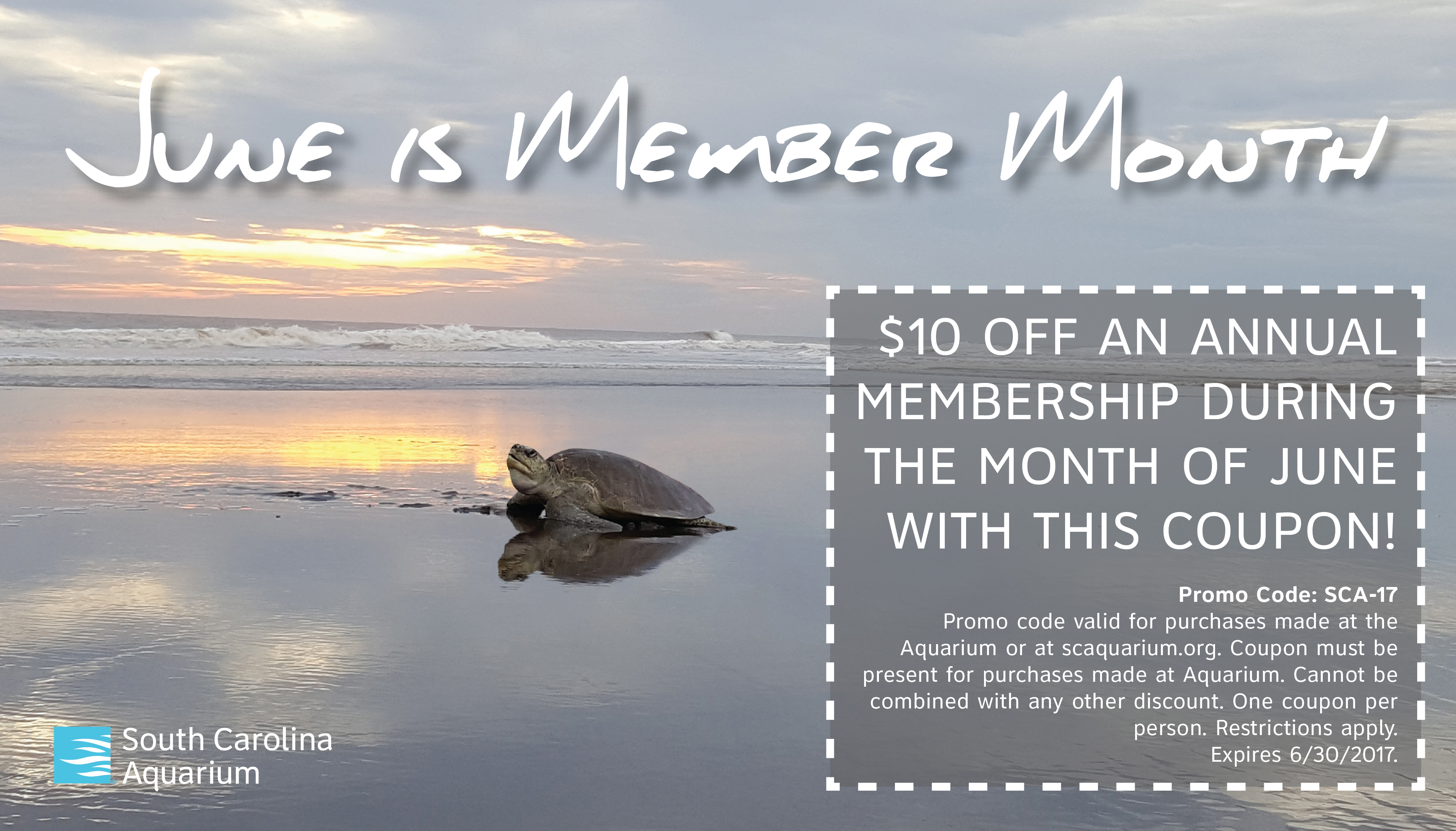 Member Month South Carolina Aquarium